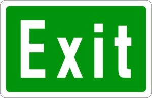 Exit Sign 1024x1024