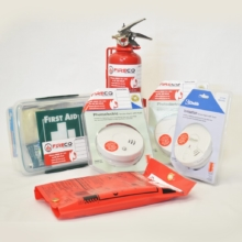 Fire Safety Kit for Small Homes