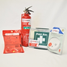 Fire Safety Kit for Boats and Caravans