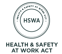 Are you ready for the Health And Safety At Work Act ? (HSWA)
