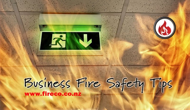 business fire safety tips from Fireco