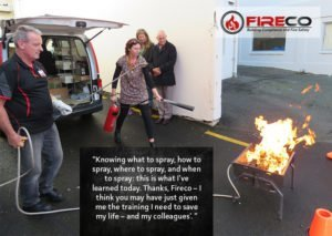fire training quote
