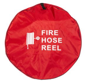fire hose reel with cover