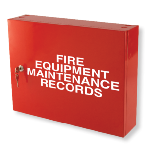 fire safety compliance records cabinet red 1