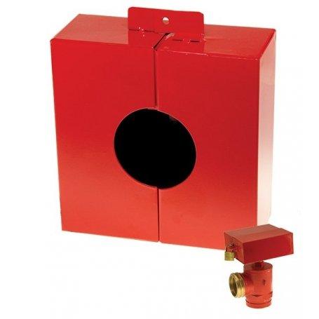 hydrant locking wheel metal