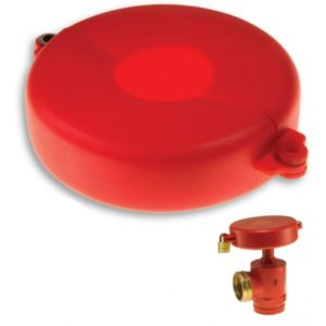hydrant locking wheel plastic