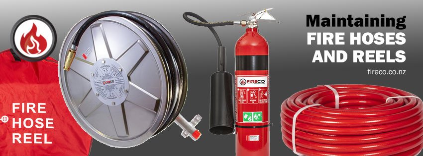 Maintaining fire hoses and fire hose reels