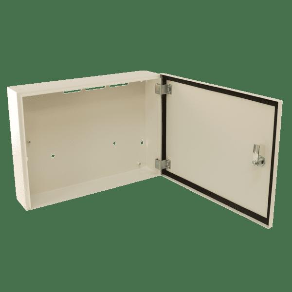 small metal storage cabinet cream