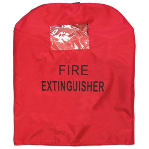 window vinyl extinguisher cover suitable for 45kg extinguishers
