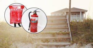 summer bach fire safety