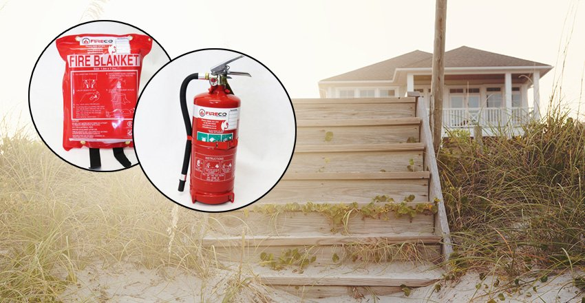 fire safety while on holiday