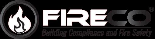 fireco white logo